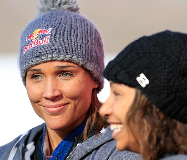 Jones and Jazmine Fenlator finished second place in the 2012 Bobsled World Cup at Lake Placid, N.Y.