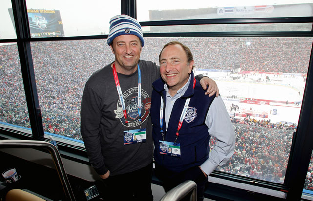 NHL Winter Classic Detroit Red Wings vs. Toronto Maple Leafs Jan. 1, 2014 at Michigan Stadium in Ann Arbor, MI