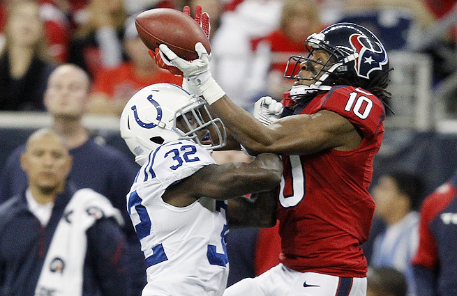 DeAndre Hopkins could have provided the Colts with a much-needed weapon in the passing game.