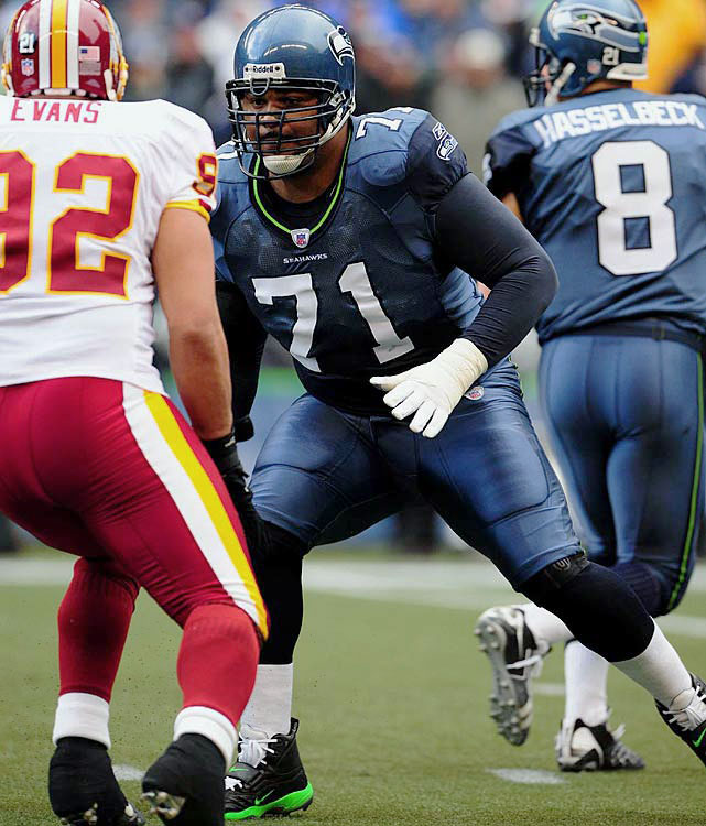 A future Hall of Famer, Walter Jones played 12 seasons at left tackle in the NFL, all of which came as a member of the Seattle Seahawks. Named to nine Pro Bowls and four first-team All-Pro squads, Jones anchored one of the league's best offensive lines. Led by Jones, the Seahawks had perhaps their most successful stretch in franchise history, earning playoff berths in five straight seasons from 2003 to 2007, including a Super Bowl appearance to cap the 2005 season.
