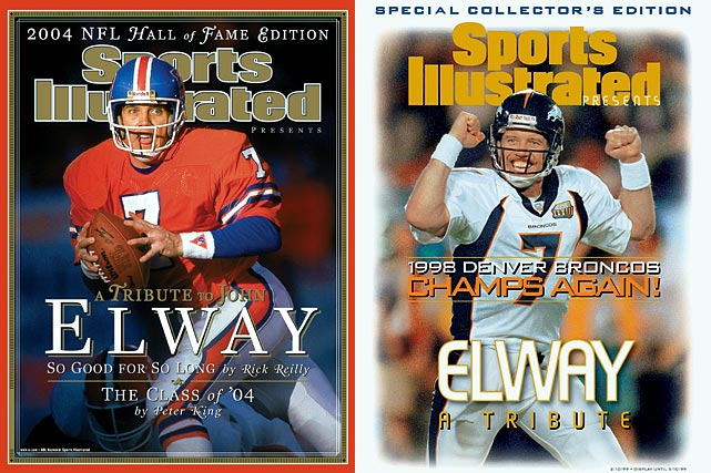 """He's fourth on the all-time passing yards list with 51,475. He's seventh on the passing touchdowns list with 300. John Elway posted incredible numbers during his 16-year Hall of Fame career with the Broncos, but he is also known for his intangibles: """"The Drive"""" against Cleveland in the 1986 AFC Championship, Elway's leap for a first down against the Packers in the 1998 Super Bowl and his 46 career game-winning drives just to name a few. Elway, the most well-known Denver Bronco ever, finished his career with two straight victories in the Super Bowl, cementing the Hall of Famer's legacy as one of the greatest quarterbacks in NFL history."""