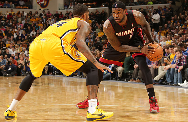 The Pacers (33-8) and Heat (31-12) have distanced themselves from the rest of the pack in the East.