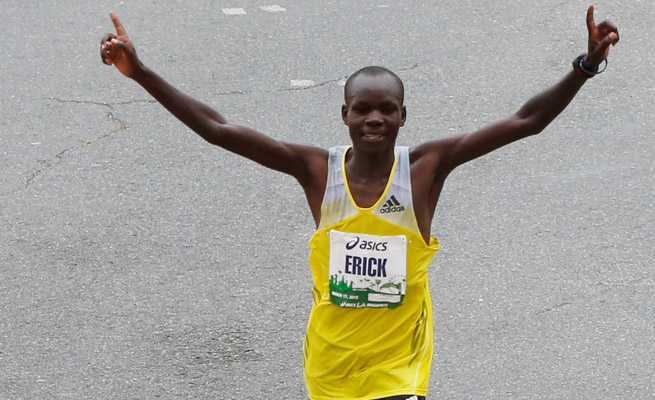 Erick Mose won the 2013 Los Angeles Marathon and will return to defend his title on the same course.