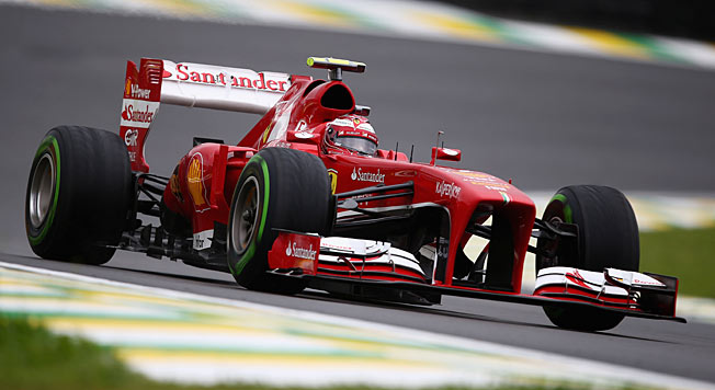 Felipe Massa, seen here in last year's Brazilian Grand Prix, will have a dynamic new ride in 2014.