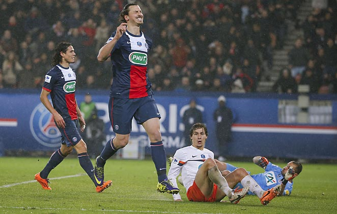 Zlatan Ibrahimovic could't break the deadlock for PSG in a lackluster draw on Saturday.