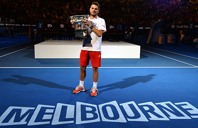 Stanislas Wawrinka took down the top two seeds en route to winning the Australian Open.