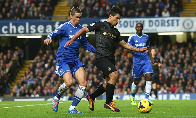 Manchester City and Chelsea met in the Premier League in October, with Chelsea winning 2-1.