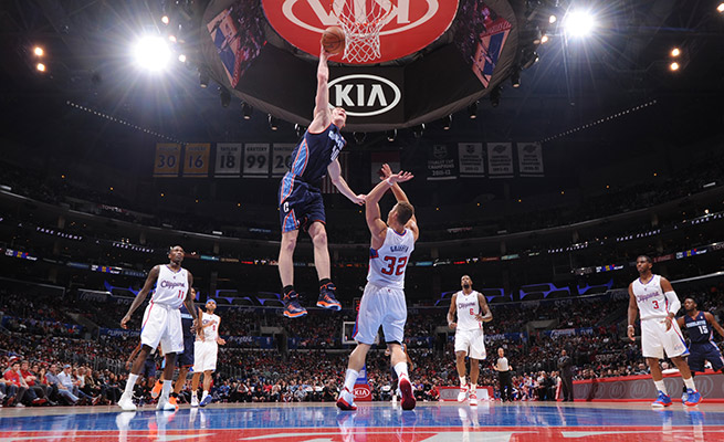 Cody Zeller might have missed this dunk attempt on Blake Griffin, but it still makes for a pretty good poster.