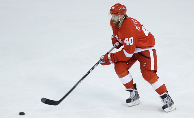 Henrik Zetterberg leads the Red Wings in goals (16), assists (28), and points (44) in 40 games played this season.