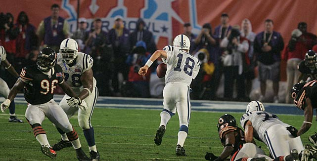 Prior to Indianapolis's run to Super Bowl XLI, Manning had been criticized as a quarterback who could not win the big game, as he had compiled a 3-6 playoff record to that point.