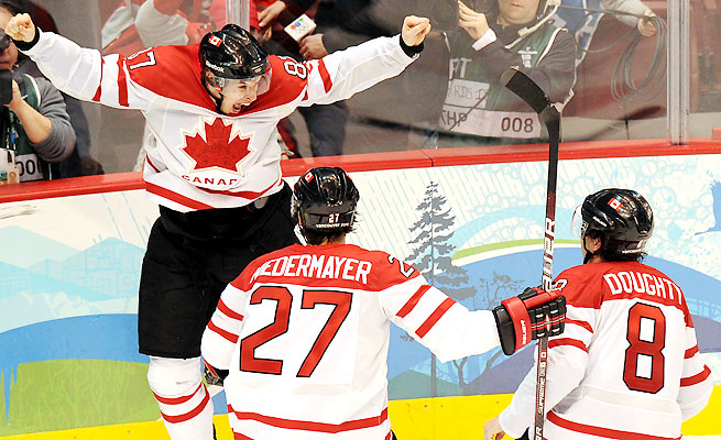 Canada beat the U.S. in the gold medal game at the Vancouver Olympics on a goal from Sidney Crosby.