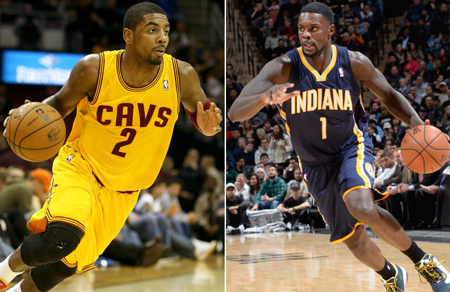 Kyrie Irving (left) deserves to be an All-Star, but Indy's Lance Stephenson should be the Eastern starter.