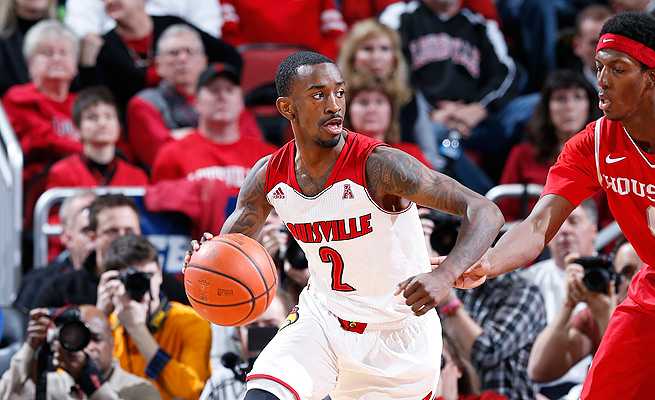 Russ Smith has always been a prolific scorer, but he has focused this season on improving his passing.