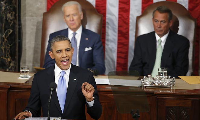 President Barack Obama made the remarks about the Olympics in his State of the Union address Tuesday.
