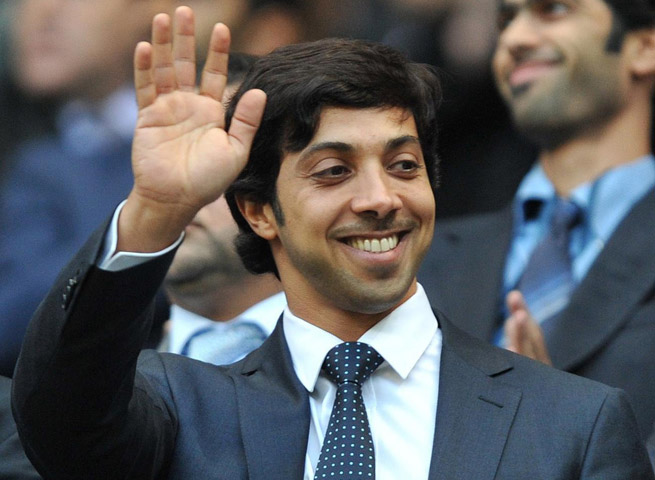 Manchester City owner Sheikh Mansour bin Zayed Al Nahyan had his club post a loss of $85 million last year.