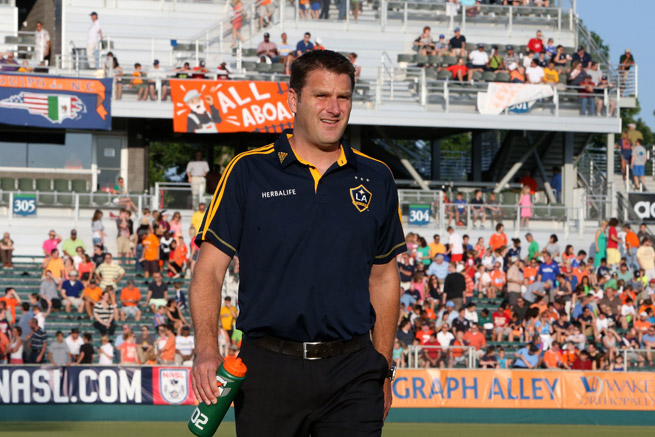 Curt Onalfo will take charge of LA Galaxy II in USL Pro after being an assistant to Bruce Arena with the Galaxy's MLS side for the last three years.