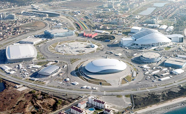 Though immediate areas of the Sochi Olympics are well secured, outside targets are at higher risk.