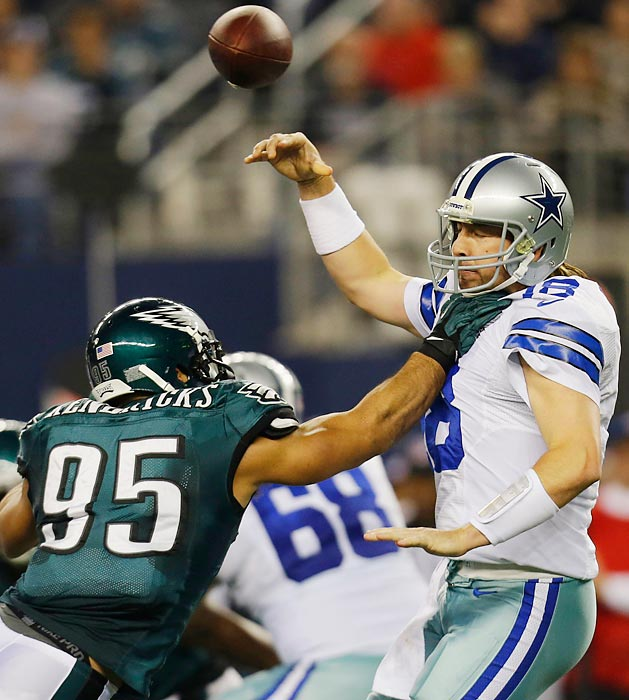 The Dallas Cowboys season essentially ended when Tony Romo underwent back surgery prior to Week 17's NFC East title game against the Philadelphia Eagles. The Cowboys had to depend on Kyle Orton in a must-win matchup that they lost, 24-22.