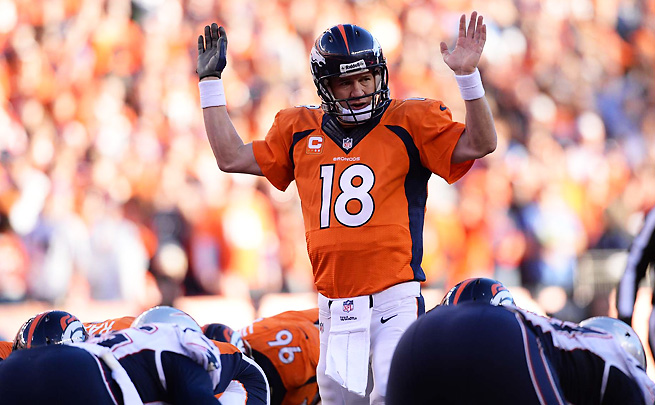 Peyton Manning had the best statistical season of any quarterback in NFL history in 2013.