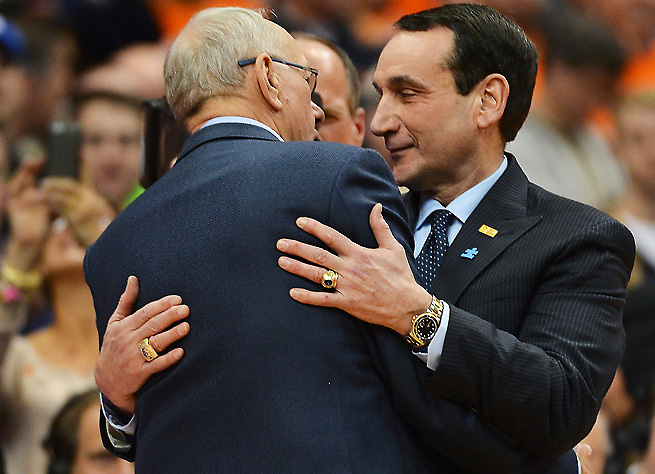 Jim Boeheim and Mike Krzyzewski's teams provided a game that lived up to all of the hype.