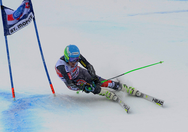 Ted Ligety's performance at St. Moritz should have him confident ahead of his appearance in Sochi.