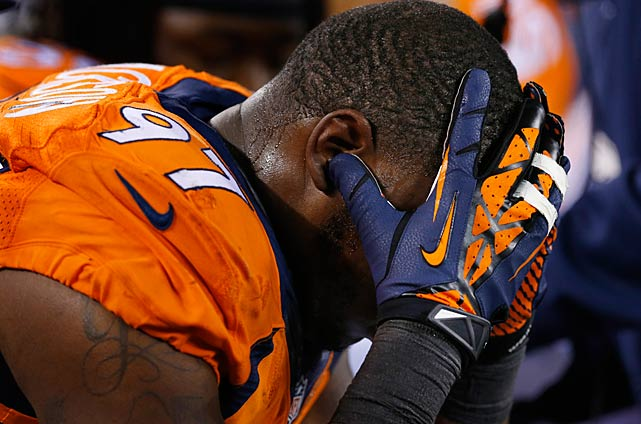 For Malik Jackson and the Broncos, this season had a similar ending to last year -- a disappointing loss.