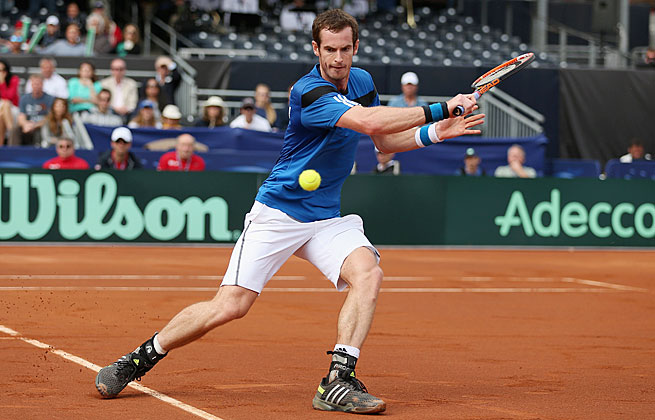 Andy Murray's win over Sam Querrey gave Britain its first Davis Cup win over the U.S. since 1935.
