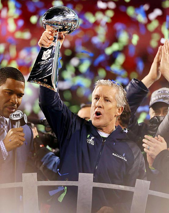 Pete Carroll is the third coach to win a Super Bowl and a national football championship.