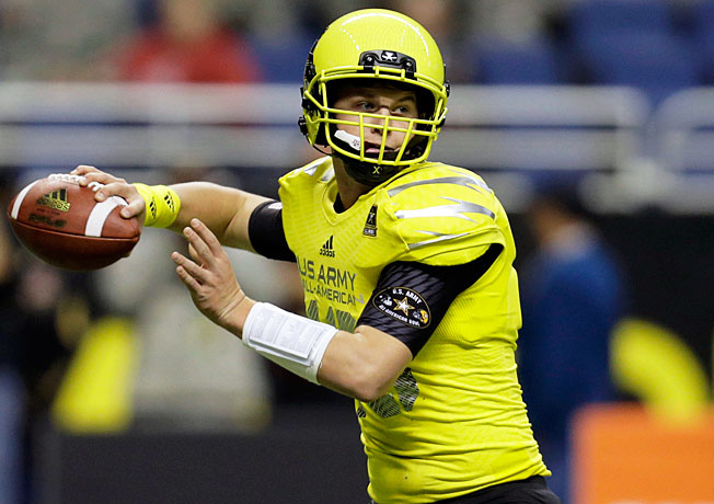 After enrolling early, Kyle Allen will vie to replace Johnny Manziel as Texas A&M's starting quarterback.