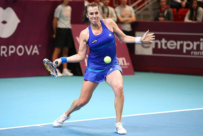 This is Anastasia Pavlyuchenkova's first title since winning the Portugal Open in May 2013.