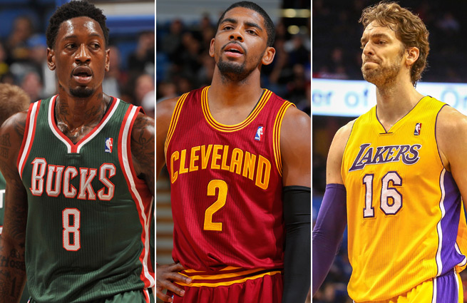 The Bucks, Cavaliers and Lakers all once had playoff hopes, but are now entrenched in the NBA's cellar.