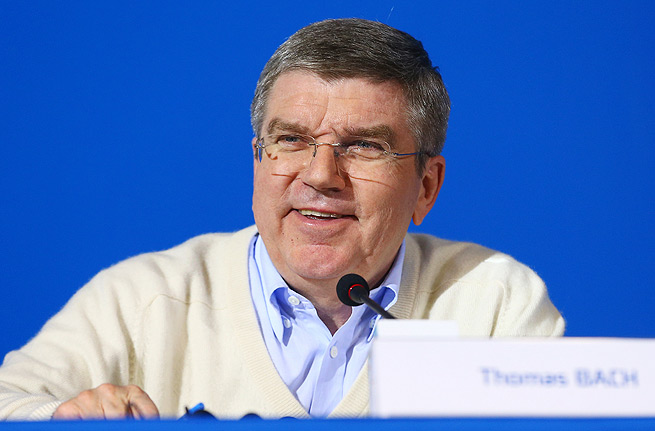 IOC president Thomas Bach reiterates that he's confident in Russia's abilities to hold a safe Olympics.