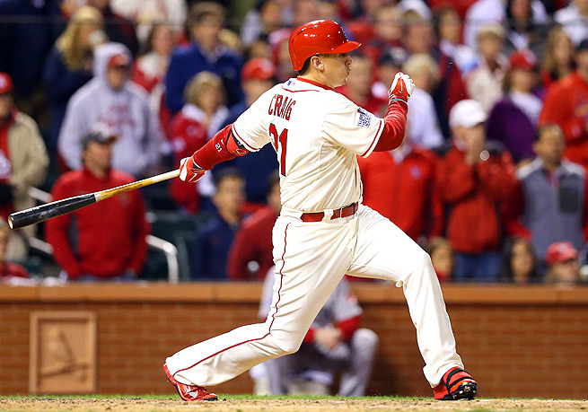Allen Craig will get more opportunities at the plate with Carlos Beltran traded to the Yankees.