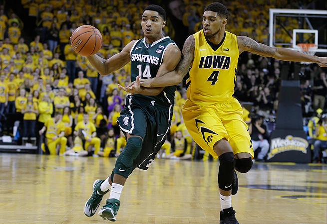 Gary Harris has battled injuries since arriving in East Lansing, but his value to the Spartans has never been in doubt.