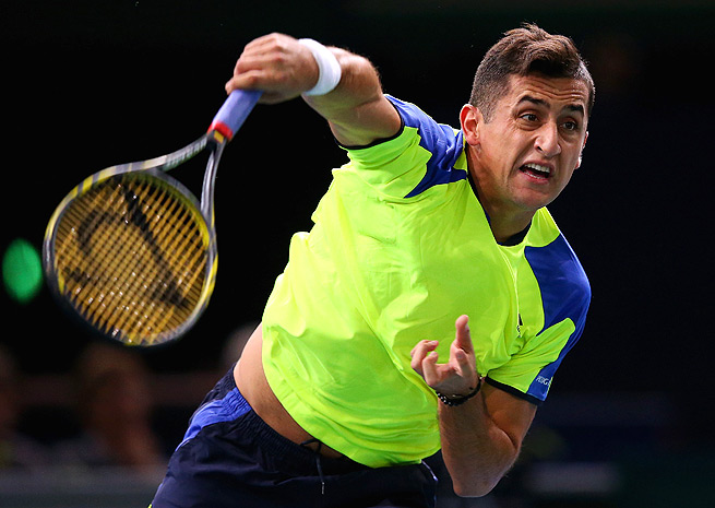Nicolas Almagro was forced to sit out of the Australian Open with a shoulder injury.
