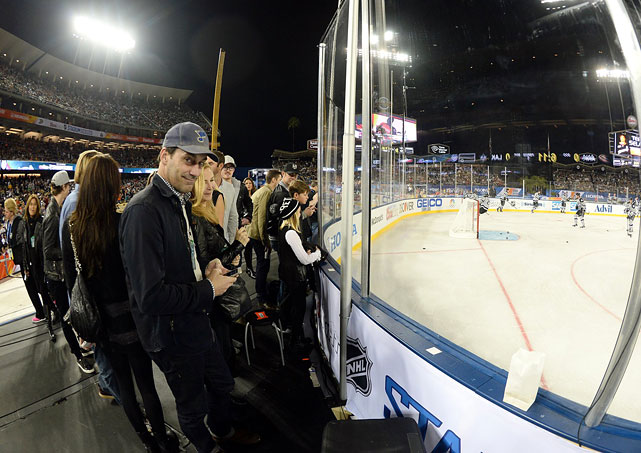 NHL Stadium Series Los Angeles Kings vs. Anaheim Ducks Jan. 25, 2014 at Dodger Stadium in Los Angeles