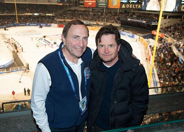NHL Stadium Series New York Islanders vs. New York Rangers Jan. 29, 2014 at Yankee Stadium in New York
