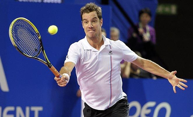 Richard Gasquet will meet fellow Frenchman Gael Monfils in the final of the Open Sud de France.