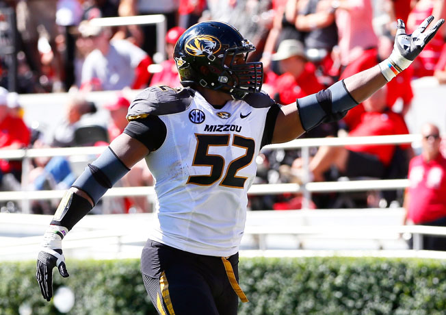 Michael Sam led the SEC with 11.5 sacks and was the conference's Defensive Player of the Year in 2013.