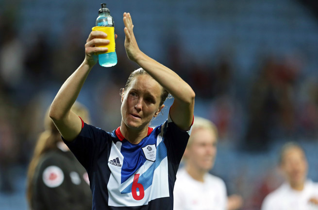 England captain Casey Stoney has blasted FIFA for selecting World Cup hosts who are vehemently opposed to homosexuality.