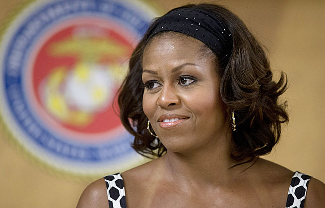 First Lady Michelle Obama was among the many White House voices of support for Michael Sam.