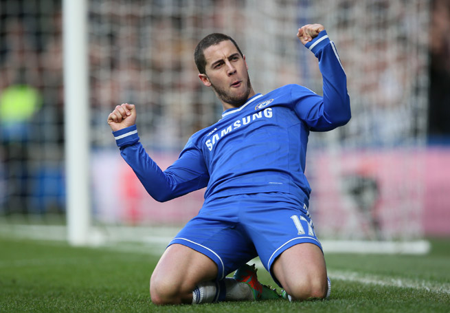 Eden Hazard's rise with Chelsea has had him mentioned along the likes of Lionel Messi and Cristiano Ronaldo in the conversation for world's best player.