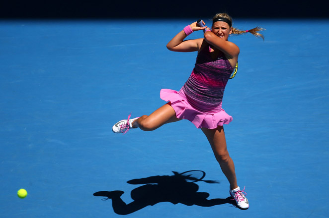 Two-time Australian Open champion Victoria Azarenka last played on tour at Indian Wells on March 7.