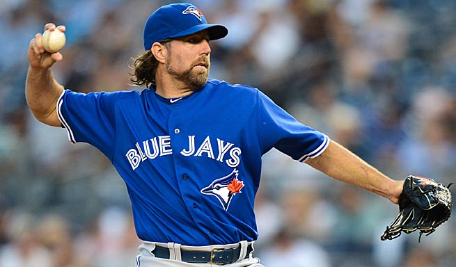 R.A. Dickey is being undervalued, but easily could be a Top 30 pitcher by season's end.