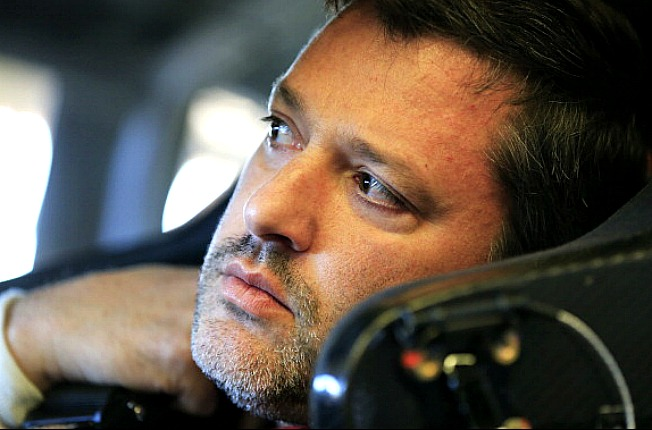 After three surgeries on his broken leg, Tony Stewart is more than eager to get back into racing action.
