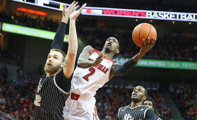 Despite their solid 21-4 record, the Louisville Cardinals will have trouble finding a top-four seed in the tournament.