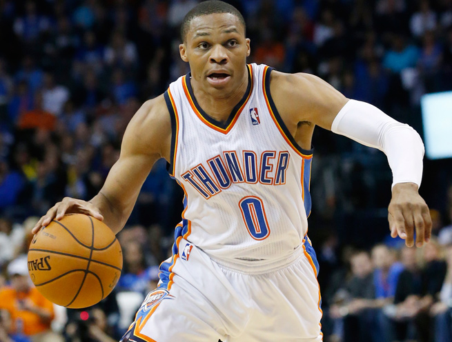 Russell Westbrook has been out since Dec. 27 due to an operation on his right knee.