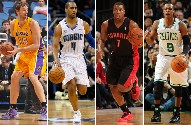 Pau Gasol, Arron Afflalo, Kyle Lowry and Rajon Rondo are among the deadline's rumored trade targets.