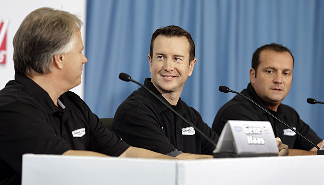Kurt Busch (center) brings added fire to what will be one of NASCAR's most fascinating teams.