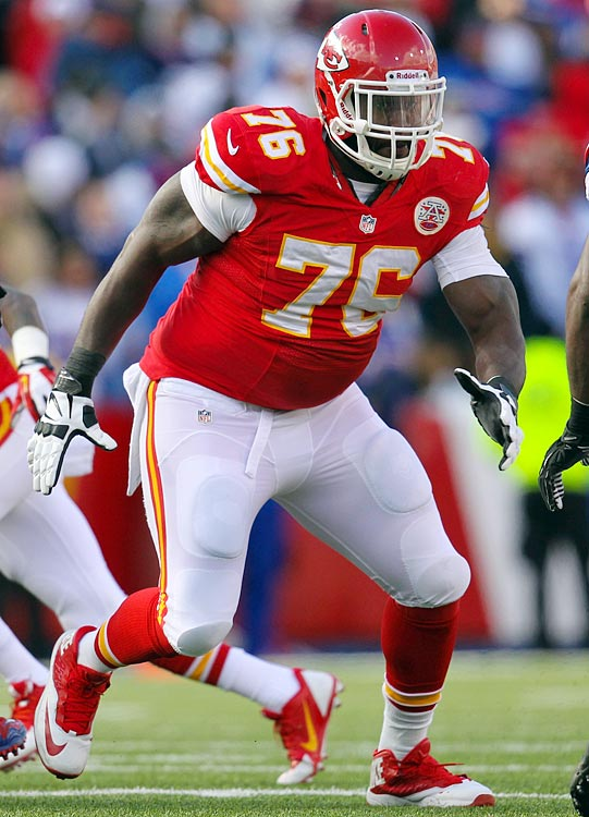 Albert started 12 games for the Chiefs in 2013, helping Kansas City to over 2,000 yards on the ground. But with promising young tackles Donald Stephenson and Eric Fisher looking like Kansas City's future starting offensive tackles, Albert will likely be on his way out this offseason.